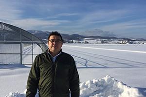 北海道中富良野町 石高農園